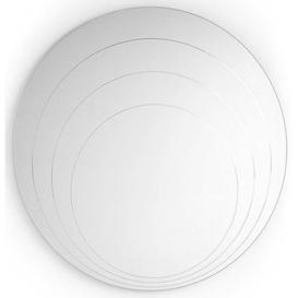 image-Connubia Lune Round Wall Mirror
