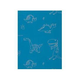image-Harlequin Jolly Jurassic Children's Wallpaper