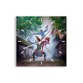 image-Maaria SilentWall Clock Bloomsbury Market Size: 30cm H x 30cm W x 0.4cm D