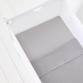 image-3 Piece Crib Bedding Set Snuz Colour: Grey