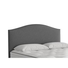 image-Vispring - Iris Floor Standing Headboard - Super King - Grey