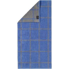 image-Two-Tone Beach Towel Caw├╢ Colour: Blue