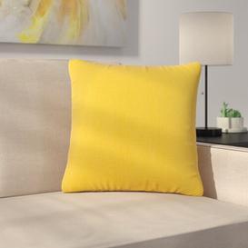 image-Morelia Scatter Cushion Ebern Designs Size: Small, Colour: Yellow