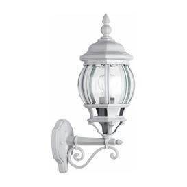 image-Vada 1 Light Outdoor Wall Light Marlow Home Co. Colour: White