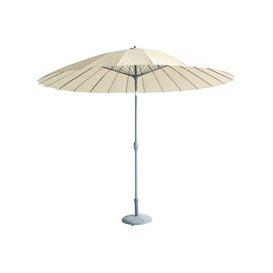 image-LeisureGrow Mikado 3m Garden Parasol - Beige