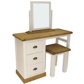 image-Mirabelle 3 Piece Dressing Table Set with Mirror Set August Grove