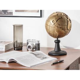 image-Earth Dryden Water Globe Rosalind Wheeler Finish: Gold