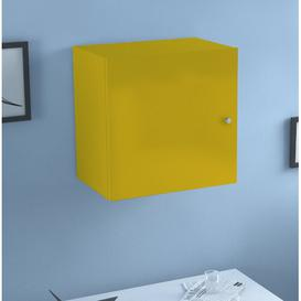 image-Amia Wall Mounted Cabinet Belfry Bathroom Finish: Yellow, Size: 45cm H x 40cm W x 30cm D