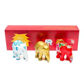 image-3 Piece Figurine Set Elephant Parade