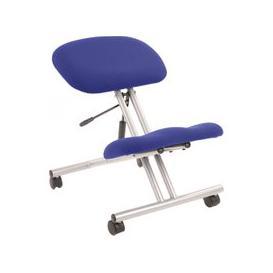 image-Malmo Kneeling Chair Silver Frame, Scuba