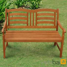 image-Izaguirre Wood Traditional Bench Sol 72 Outdoor