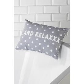 image-Polka Dot Bath Pillow
