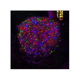 image-50, 100, 200, 300, 400, 500, 600 Fit & Forget Battery Operated Multi Colour Multi Function String Lights [300]
