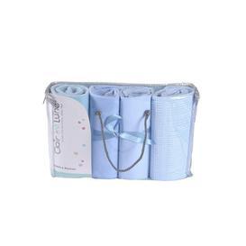 image-Clair de Lune 4 Piece Moses Basket Bedding Bale Gift Set
