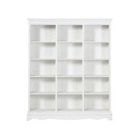 image-White Paulownia Wood Bookcase Joséphine