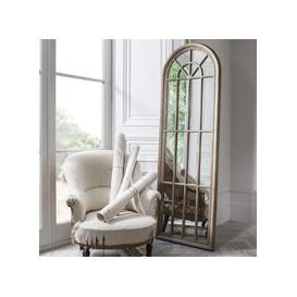 image-Gallery Direct Curtis Arched Window Pane Mirror / White
