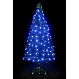 image-7ft LED Snowbright Christmas Tree