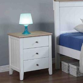 image-Jonah 3 Drawer Bedside Table The Children's Furniture Company