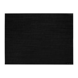 image-Chilewich - Mini Basketweave Rectangle Placemat - Black