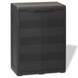 """image-""""Altamirano 34"""""""" H x 26"""""""" W x 15"""""""" D Garden Storage Cabinet with 1 Shelf"""""""