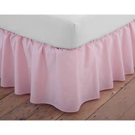 image-Margret 144 Thread Count Valance Zipcode Design Size: King (5'), Colour: Pink