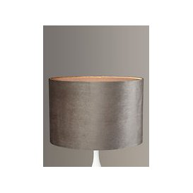 image-John Lewis & Partners Jenny Velvet Oval Lampshade