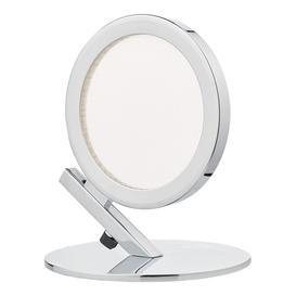 image-Dar SPA4050 Sparta 1 Light LED Table Lamp In Chrome
