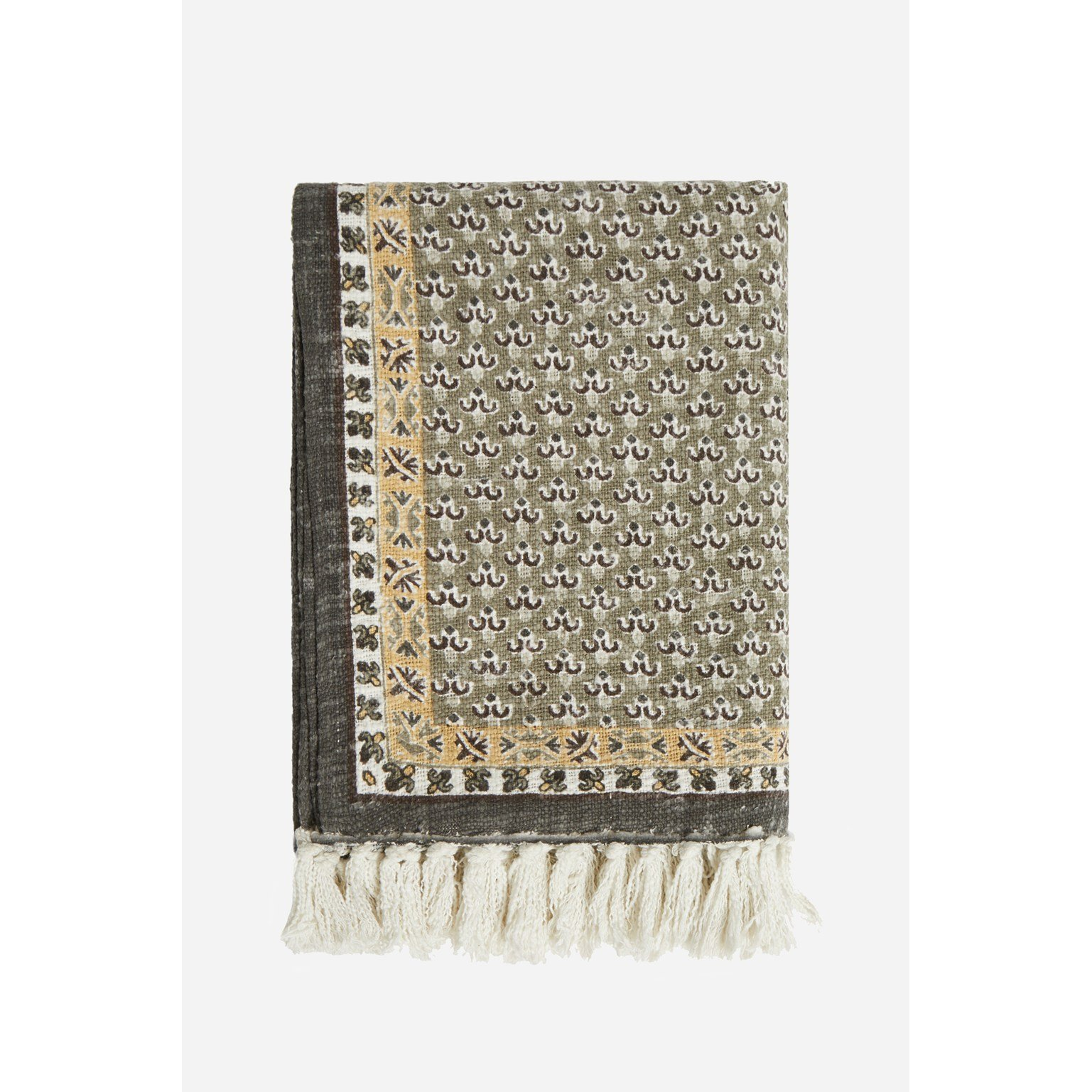 image-Poppy Field Natural Throw - natural