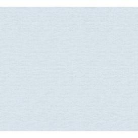image-Aiesha 10.05m x 53cm Textured Matte Paste the Wall Wallpaper Roll Mercury Row Colour: Light Blue