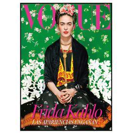image-Frida Kahlo Cover Art Framed Print