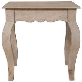 image-Calais French Style Lime Washed Lamp Table
