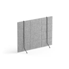 image-Desk standing screen SPLIT,600x430 mm, light grey