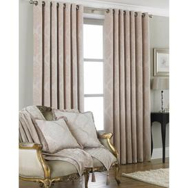 image-Carnglass More Eyelet Room Darkening Curtains Astoria Grand Size per Panel: 168 W x 229 D cm, Colour: Natural