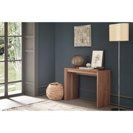 image-Hoffman Transforming Console Dining Table 95/195cm, Walnut