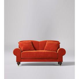 image-Swoon Lambeth Two-Seater Sofa in Black Easy Velvet