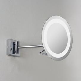 image-Astro 1097002 Gena Plus magnifying swing-arm illuminated bathroom mirror, IP44