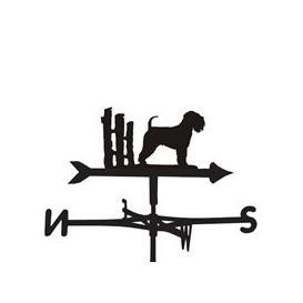 image-Weathervane in Soft Wheaten Dog Design - Large (Traditional)