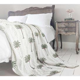 image-Palm Tree Paradise Handmade Throw