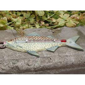 image-Huntwood Fish Thermometer Garden Sign Breakwater Bay