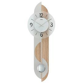 image-Pendulum Clock AMS Uhrenfabrik Colour: Light Brown
