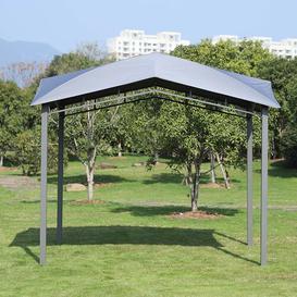image-Gorby 3 m x 3 m Steel Patio Gazebo Sol 72 Outdoor