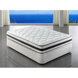 image-Borrero Pocket Sprung Mattress Symple Stuff Size: 4ft6 Double