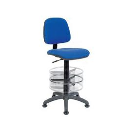 image-Ergo Deluxe Draughtsman Chair, Blue
