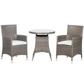 image-Royalcraft Garden Furniture Marlow Rattan 2 Seater Bistro Set