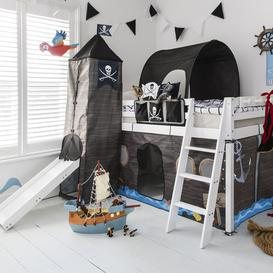 image-Bed Tidy in Pirate Hideaway design with Pockets Bed Organiser