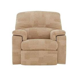 image-Chloe Fabric Recliner Armchair