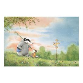 image-Vasily and Sibelius at the Signpost 2.55m x 384cm Children's Wallpaper Roll East Urban Home