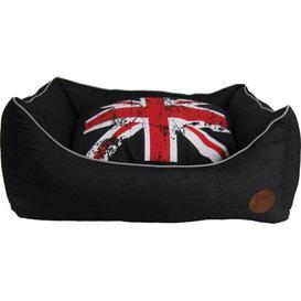 image-Blanchard Bolster Cushion in Beige Archie & Oscar Size: 69cm W x 55cm D x 27cm H