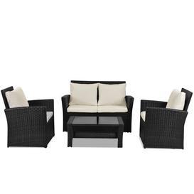 image-Cajuste 4 Seater Rattan Sofa Set