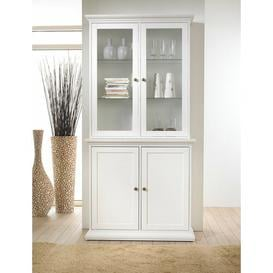 image-Starkey China Cabinet August Grove Colour: White